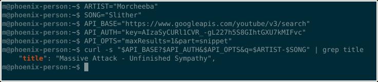 YouTube API randomness